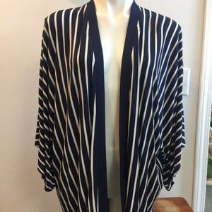 Soma Open Front Shrug Cover Up Cardigan Size Med